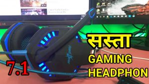 Gaming Headphone with 7.1 Surround in Hindi