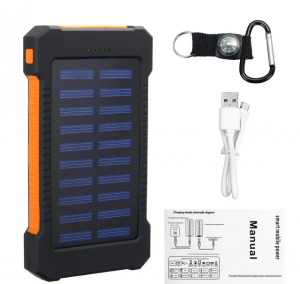 Solar Power Bank 8000 mAh Price And Specifications | Smart India
