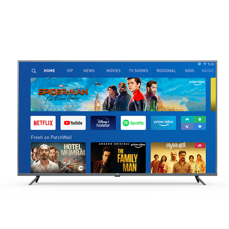 Mi 4X 163.9 cm (65) Ultra HD (4K) LED Smart Android TV