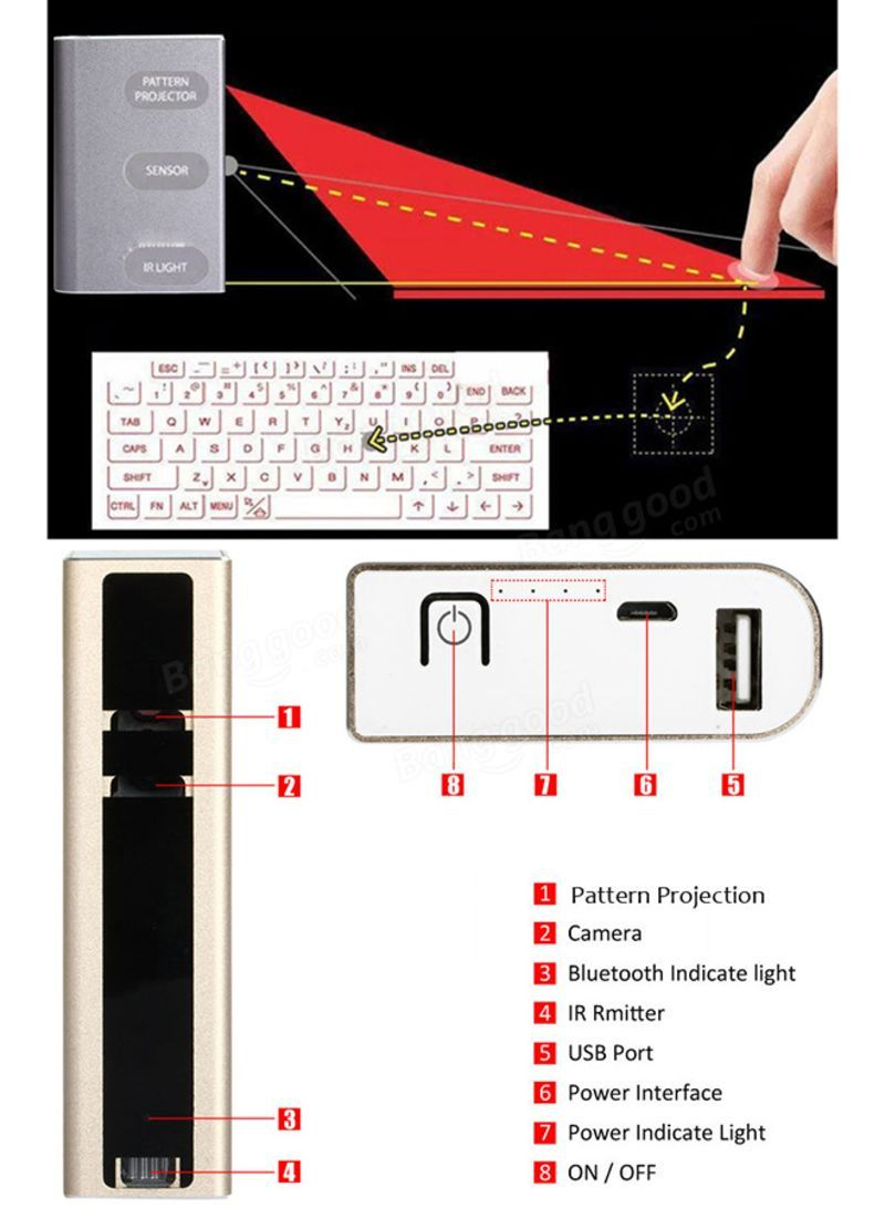 iKonnect Laser Keyboard Full Specification And Information