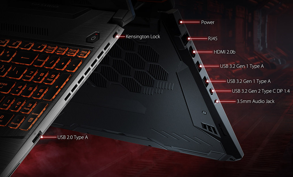 Asus TUF Gaming A15 Laptop Full Specification And Information