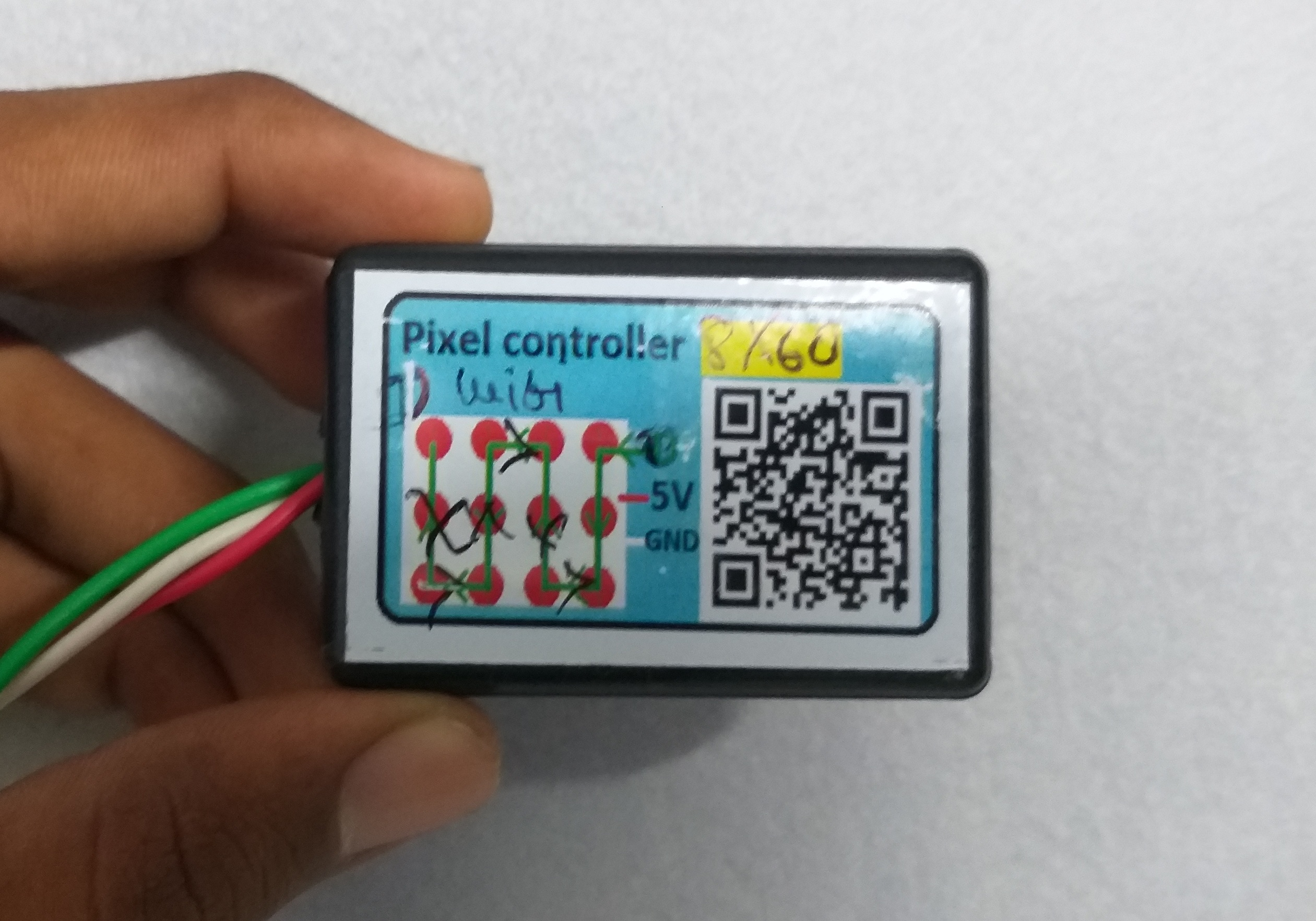 How to Make Pixel LED Scrolling Board At-Home   Pixel LED 8 X 60 Wi-Fi Controller