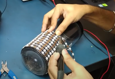 How to make A WS2812 Pixel LED Lamp At. Home | Smart India