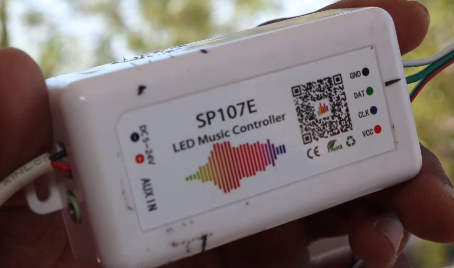 How to Make Pixel LED Music Reactive Cube   Smart India