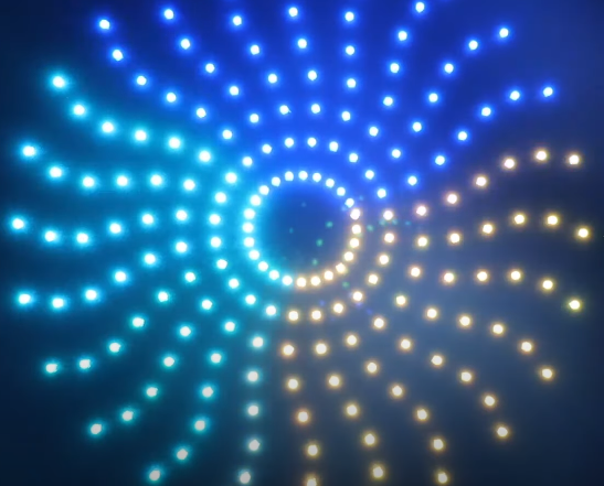 How to make Pixel LED 8x24 circle At-Home | Smart India