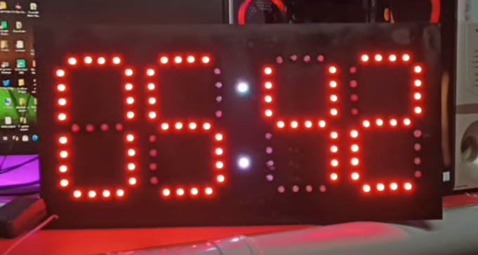 Pixel LED Clock Controller Full Information And Review